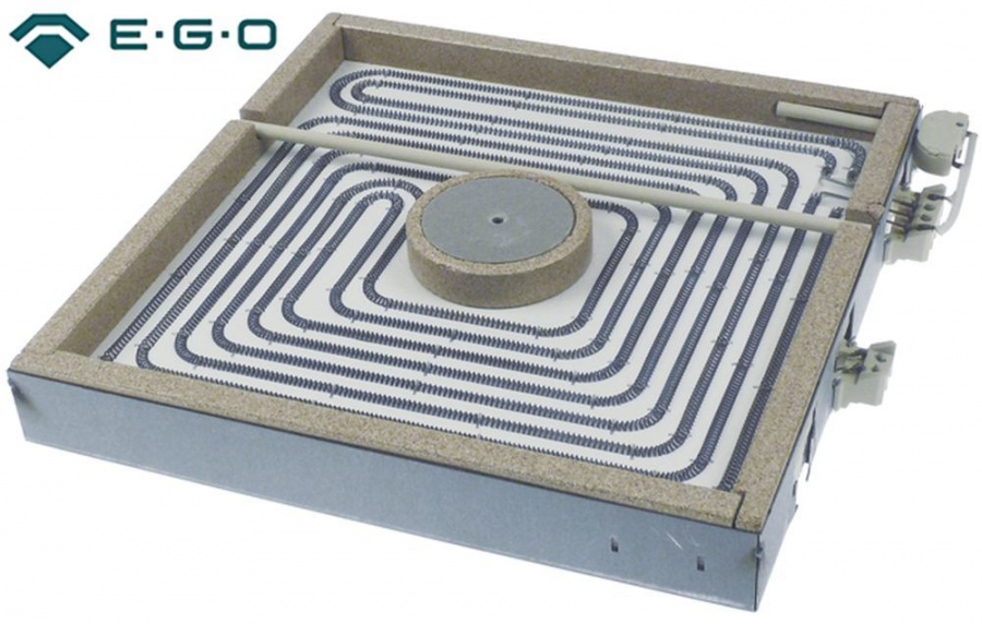 Strahlungsheizkorper L 300mm B 300mm 4000w 40 Gastrotiger